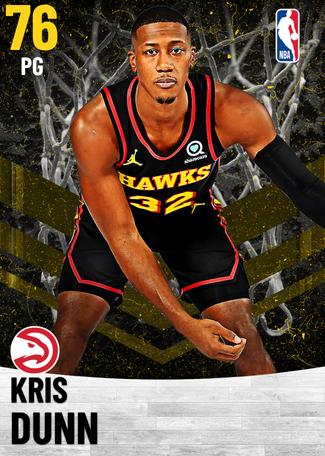 Kris Dunn gold card