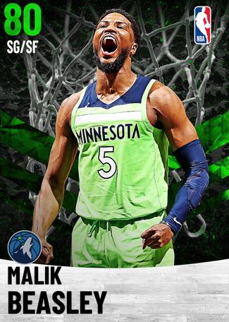 Malik Beasley emerald card