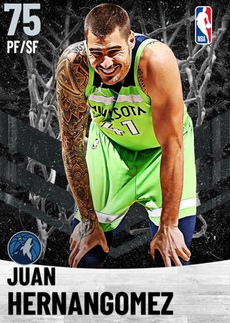 Juan Hernangomez silver card