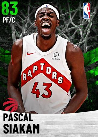 Pascal Siakam emerald card