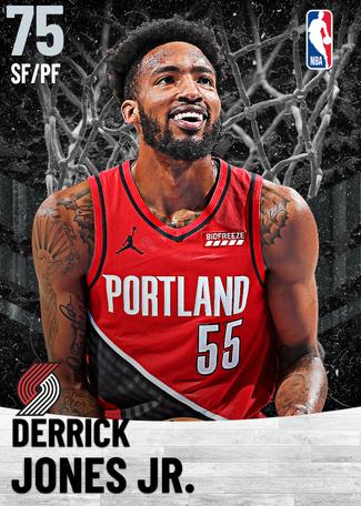 Derrick Jones Jr. silver card