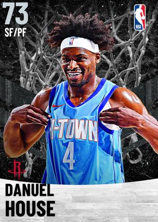 Danuel House silver card