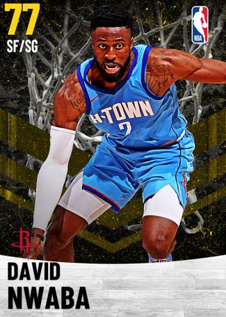 David Nwaba gold card