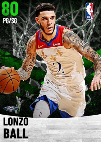 Lonzo Ball emerald card