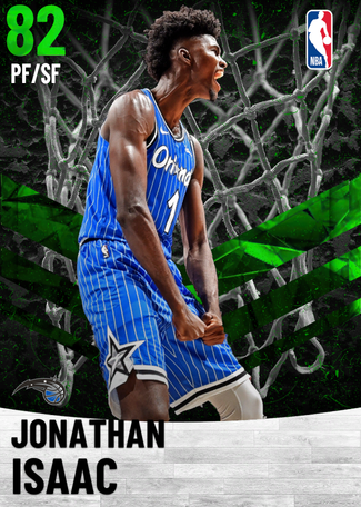 Jonathan Isaac emerald card