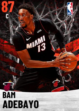 Bam Adebayo ruby card