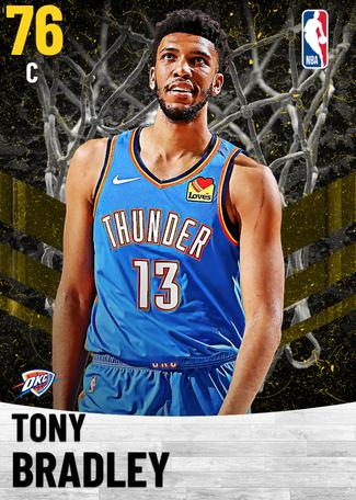 Tony Bradley gold card