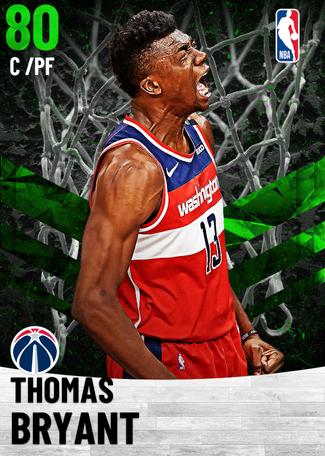 Thomas Bryant emerald card