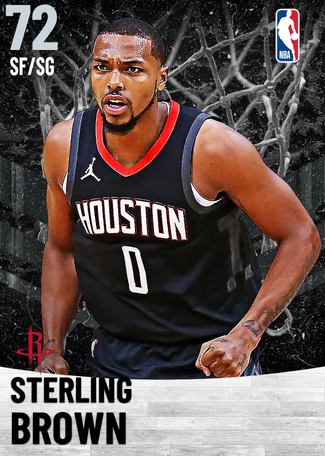 Sterling Brown silver card