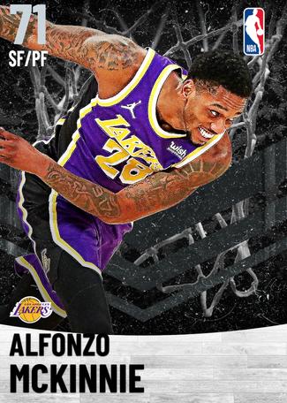 Alfonzo McKinnie silver card
