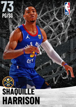Shaquille Harrison silver card