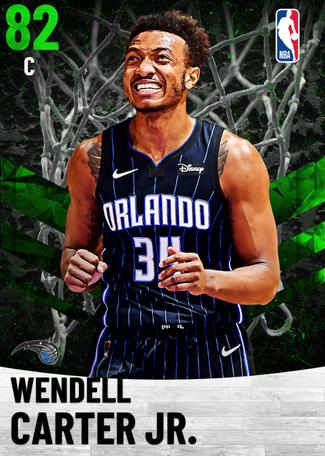 Wendell Carter Jr. emerald card