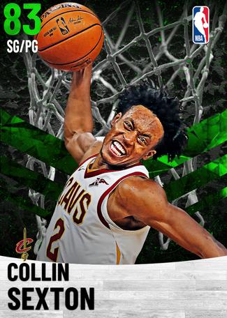 Collin Sexton emerald card