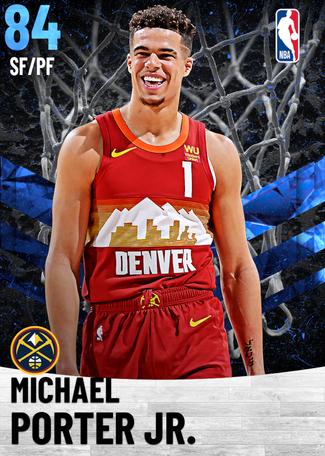 Michael Porter Jr. sapphire card