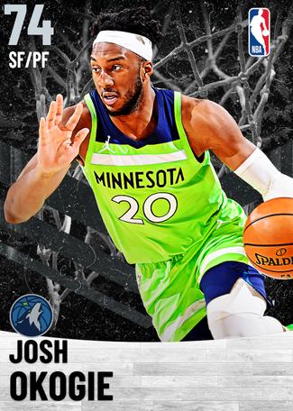 Josh Okogie silver card