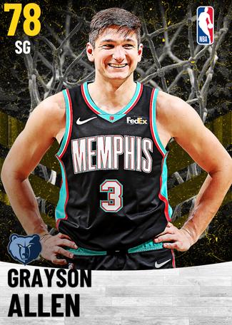 Grayson Allen gold card