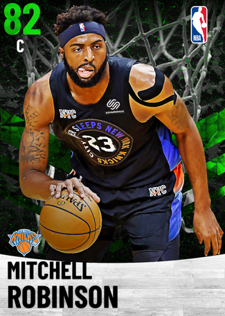 Mitchell Robinson emerald card