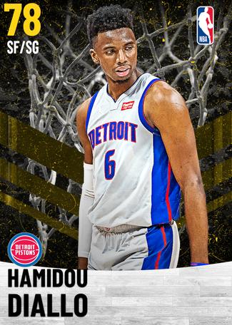 Hamidou Diallo gold card