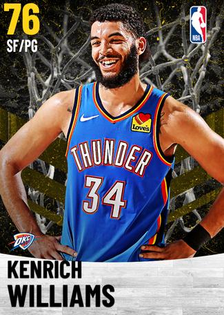 Kenrich Williams gold card