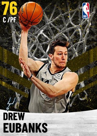 Drew Eubanks gold card