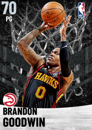 Brandon Goodwin silver card