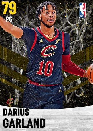 Darius Garland gold card