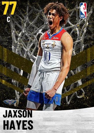 Jaxson Hayes gold card