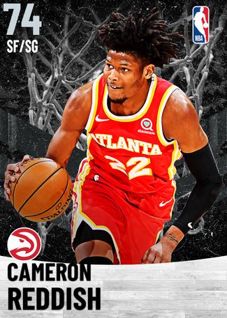 Cameron Reddish silver card