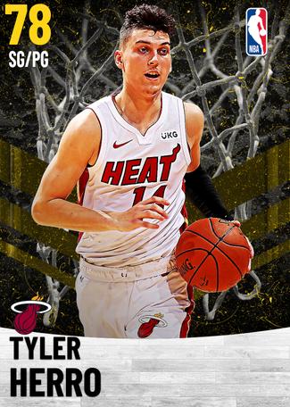 Tyler Herro gold card