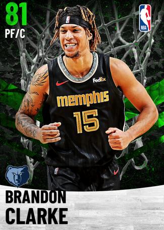 Brandon Clarke emerald card