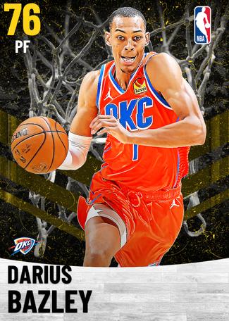 Darius Bazley gold card
