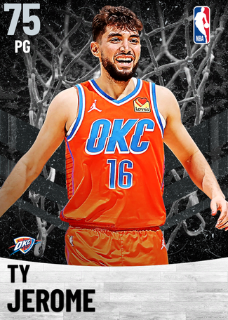 Ty Jerome silver card