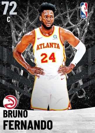Bruno Fernando silver card