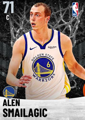 Alen Smailagic silver card