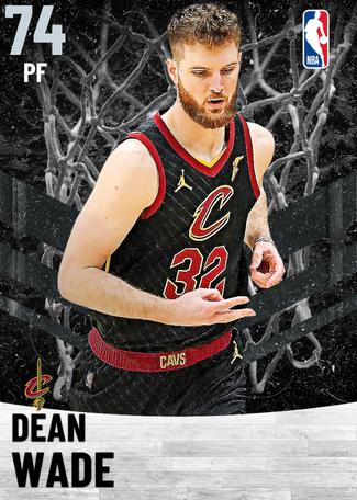 Dean Wade silver card