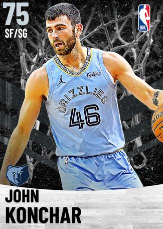 John Konchar silver card