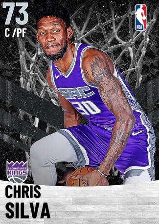 Chris Silva silver card