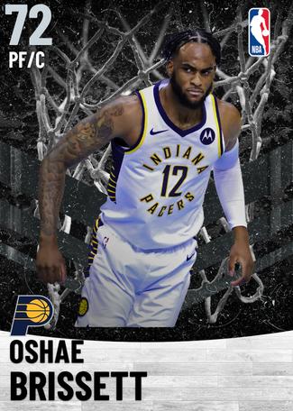 Oshae Brissett silver card