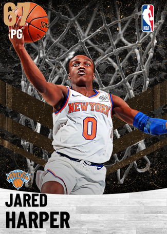 Jared Harper bronze card