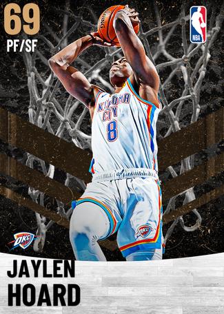 Jaylen Hoard bronze card