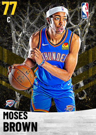 Moses Brown gold card