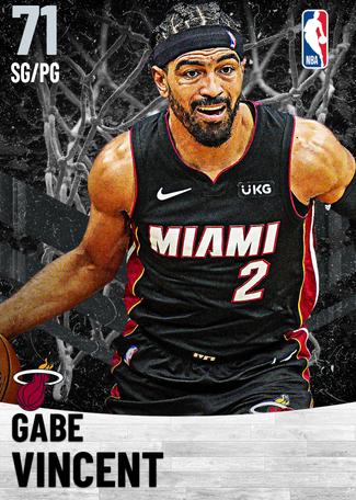Gabe Vincent silver card