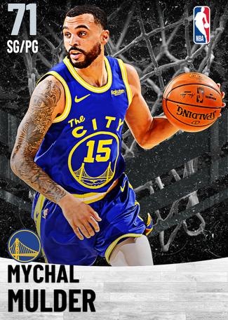 Mychal Mulder silver card