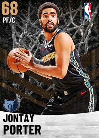 Jontay Porter bronze card