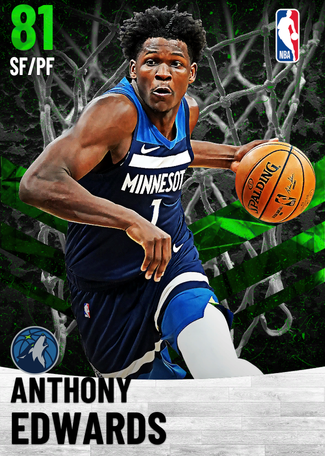 Anthony Edwards emerald card