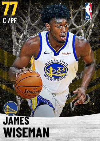 James Wiseman gold card