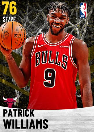 Patrick Williams gold card