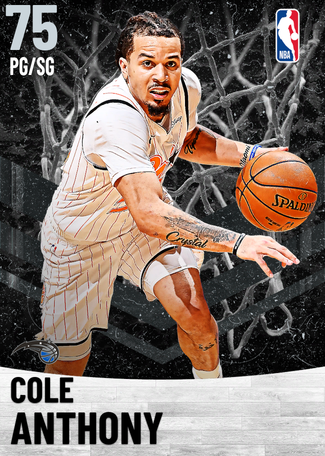 Cole Anthony silver card