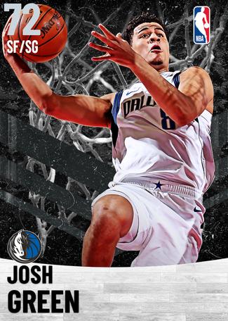 Josh Green silver card