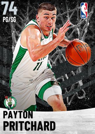 Payton Pritchard silver card